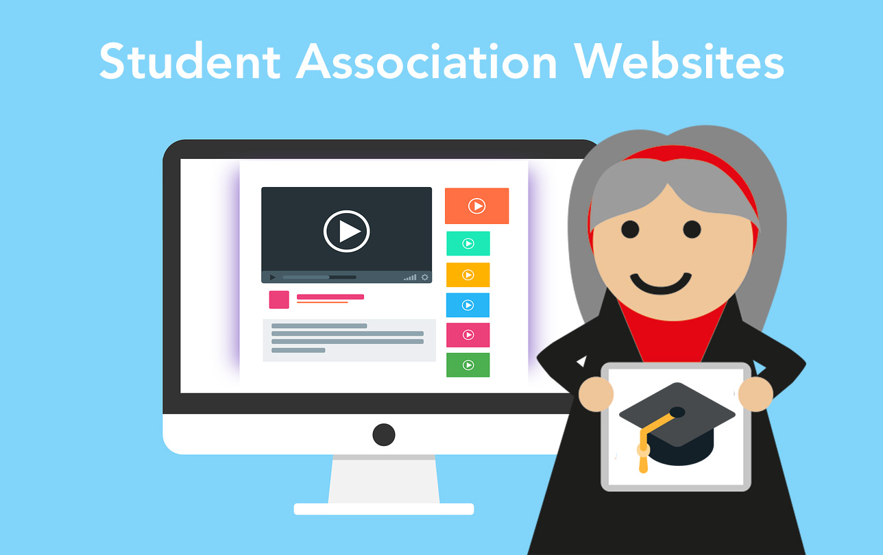 student association website