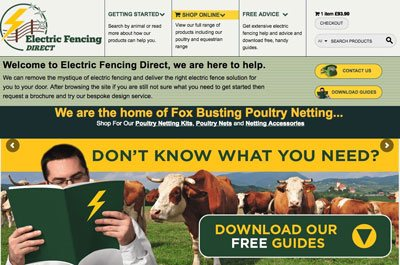 Electric Fencing Direct Website